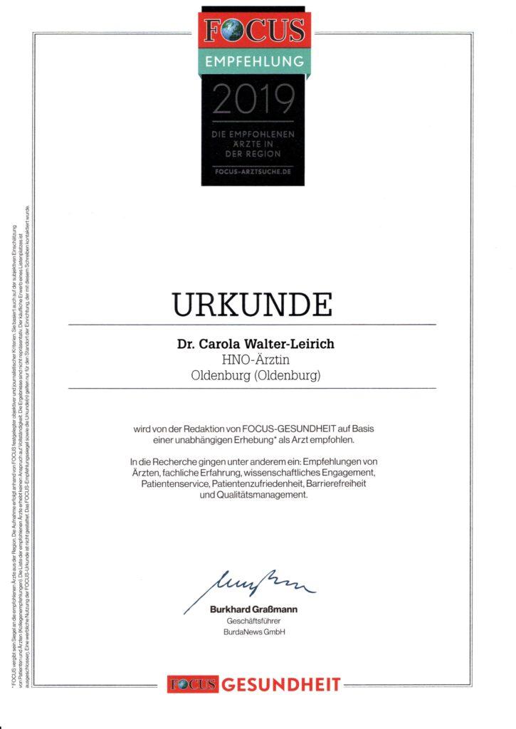 Auszeichnung W-L